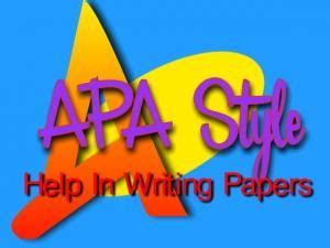How to format a Word doc for writing an APA style college paper
